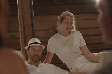 Christer Fjällström och Lisa Parkrud