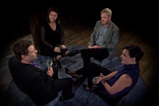 Ola Hedén, Jill Ung, Göran Parkrud och Susanna Helldén