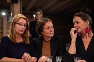 Jill Ung, Pia Edlund, Susanna Helldén